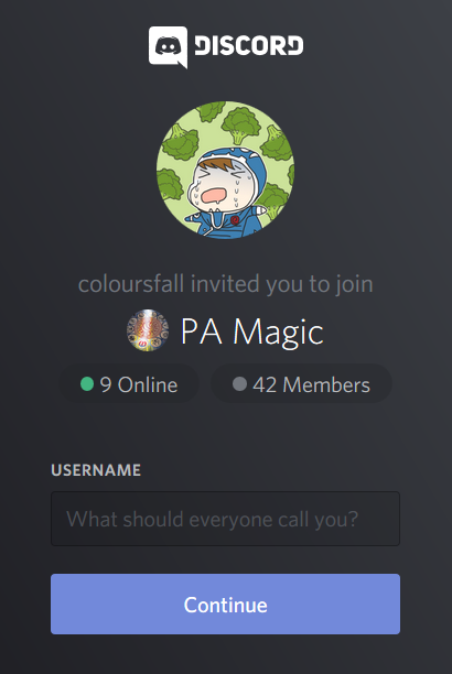 Join the Discord Chat