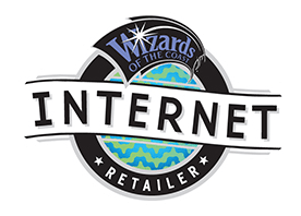 Wizards of the Coast Internet Retailer badge